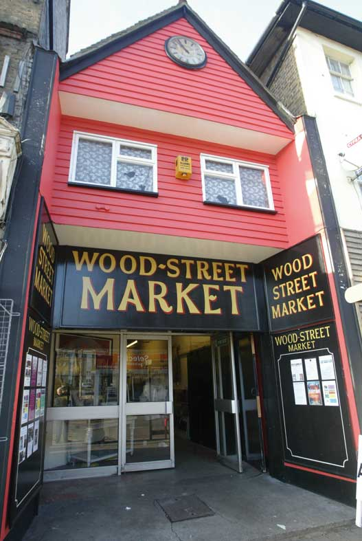 Wood Street Market - the place to be!