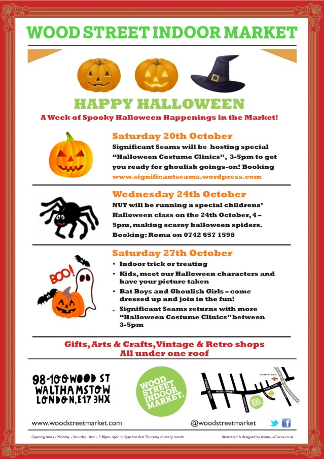 A Week of Spooky Halloween Happenings in the Market!