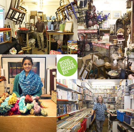 Hunt for your best bargain here at Wood Street Indoor Market