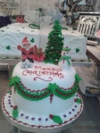 STUNNING XMAS CAKES MADE TO ORDER AT SCROLLS AND SHELLS